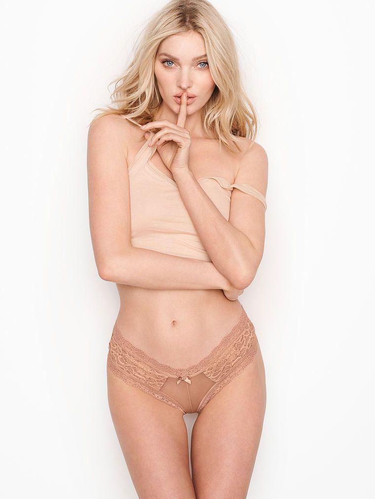 Victoria Secret kalhotky Lace Cheeky Panty Victoria's Secret