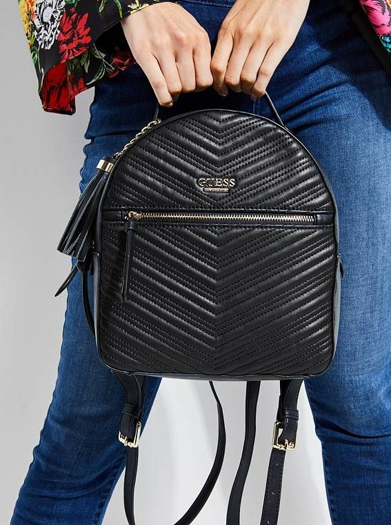 GUESS batoh Liz Quilted Backpack