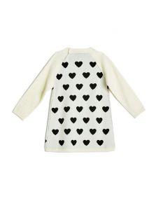 GUESS šaty Allover Hearts Dress