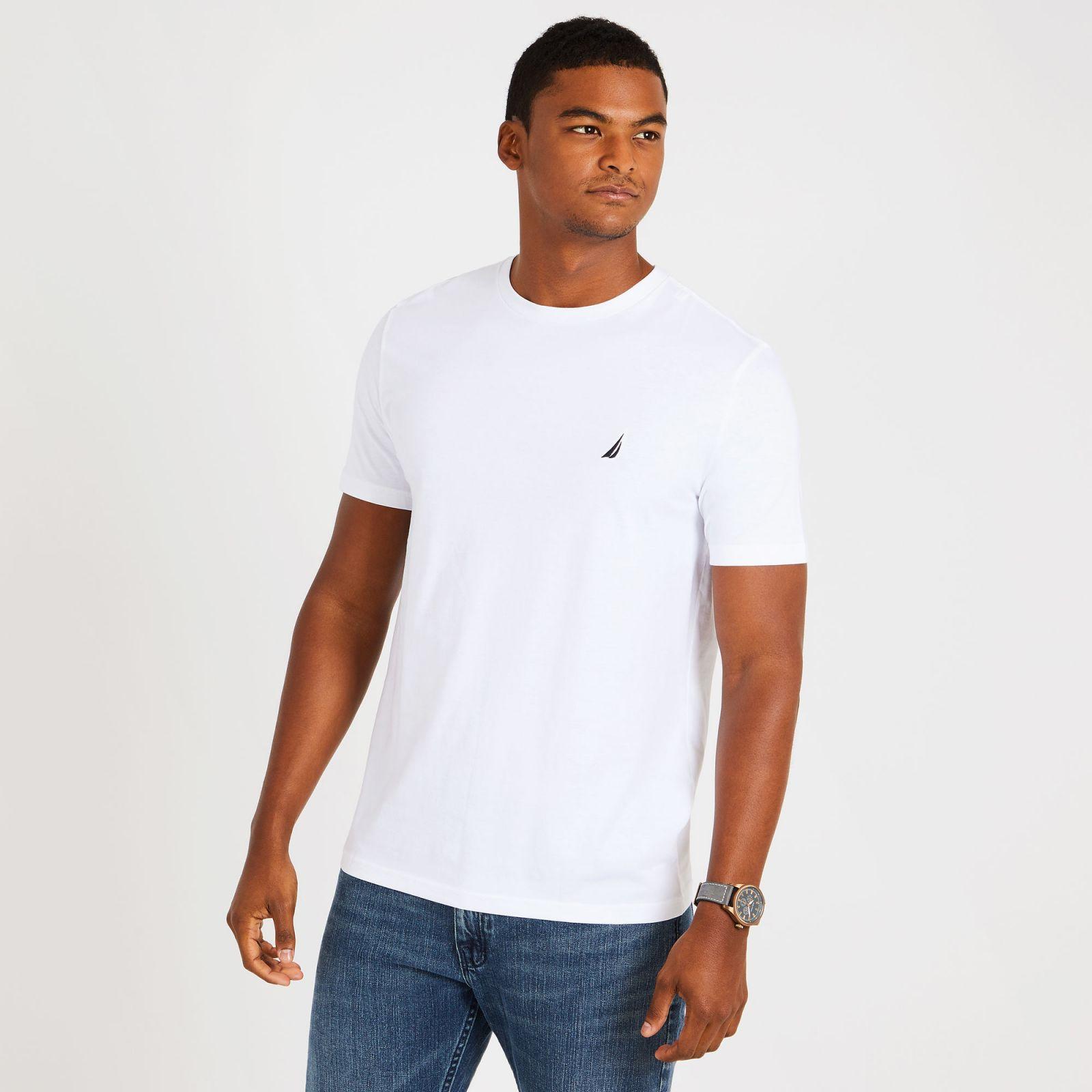 Nautica tričko Solid Short Sleeve Crewneck T-Shirt