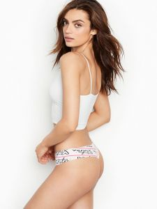 Victoria Secret dámská tanga Now Show Geo Mesh Thong Panty Victoria's Secret