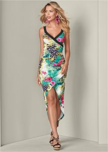 VENUS dámské šaty HIGH LOW