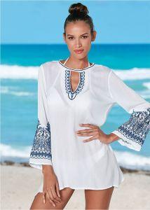 VENUS dámské plážové šaty EMBROIDERED