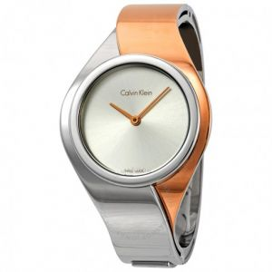 Calvin Klein hodinky Senses Silver Dial Ladies Watch