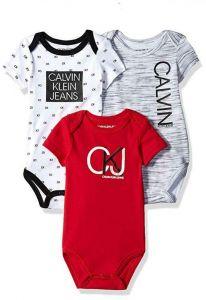 Calvin Klein oblečení pro miminko 3 Pack Bodysuit
