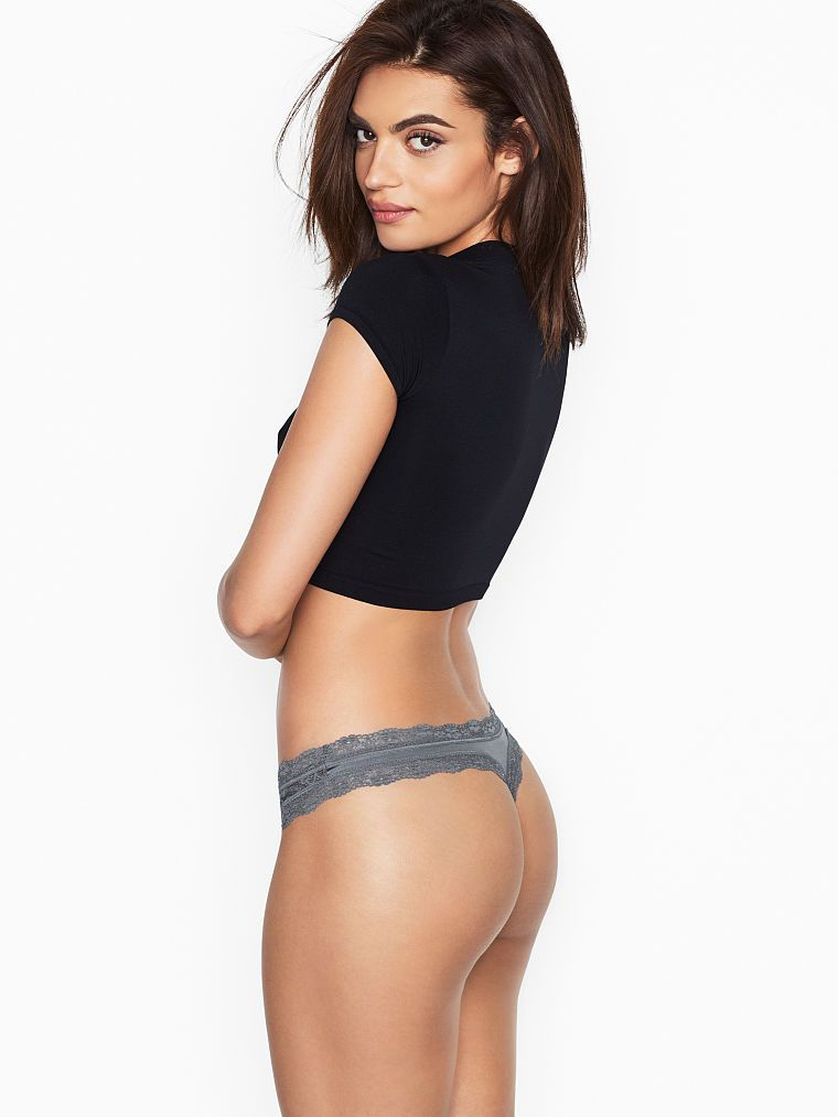 Victoria's Secret dámská tanga Banded Thong Panty