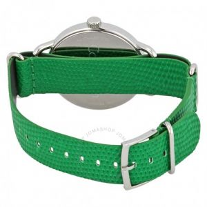 Calvin Klein hodinky Even Green Dial Green Leather Men's Watch