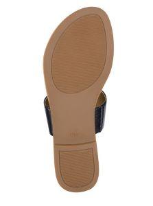 GUESS dámské sandále Luelle T-Strap Slide Sandals