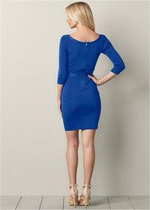 VENUS šaty BANDAGE CUT OUT DRESS