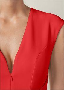 VENUS šaty BOW DETAIL BODYCON DRESS