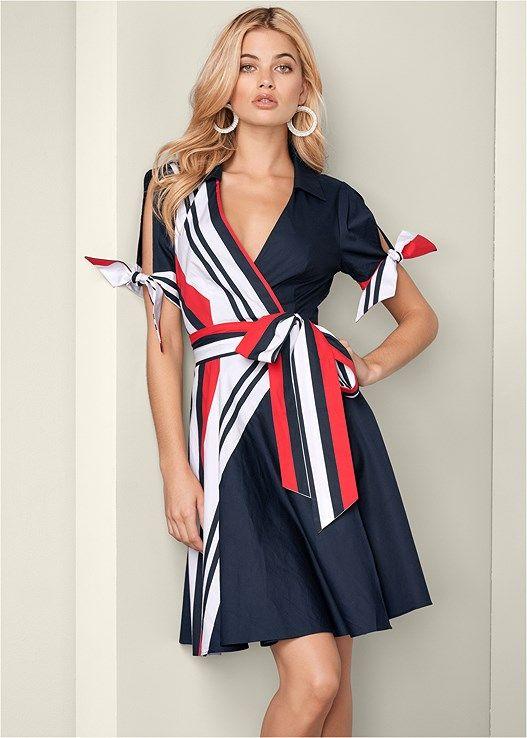 VENUS šaty COLD SHOULDER SHIRT DRESS
