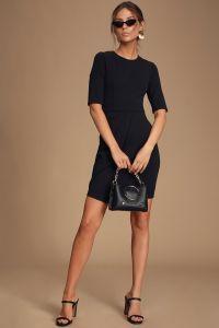 Lulus dámské šaty Westwood Black