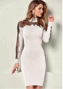 VENUS dámské šaty LACE DETAIL