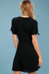 Lulus dámské šaty MY PHILOSOPHY WRAP DRESS