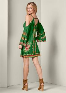 VENUS šaty FLORAL PRINT DRESS