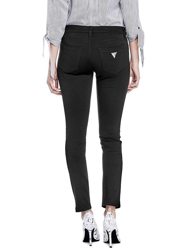 GUESS kalhoty Miri Ponte-Knit Skinny Pants