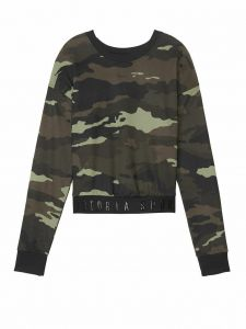 Victoria Secret mikina Cropped Pullover Victoria's Secret