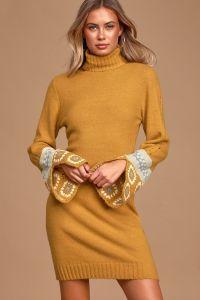 Lulus dámské svetrové šaty It's Groovy