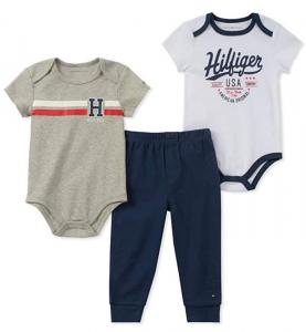 Tommy Hilfiger oblečení pro miminko 3 Pieces Creeper