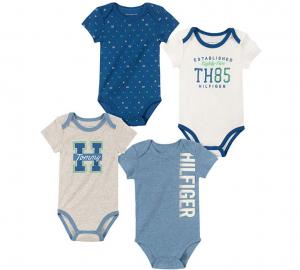 Tommy Hilfiger oblečení pro miminko 4 Pieces Pack Bodysuits