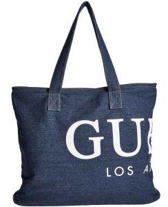 GUESS dámská taška Denim Tote