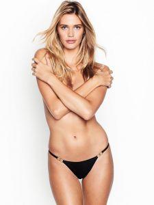 Victoria´s Secret dámské kalhotky Eyelash Lace String Bikini