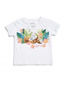 GUESS dívčí tričko Tropical