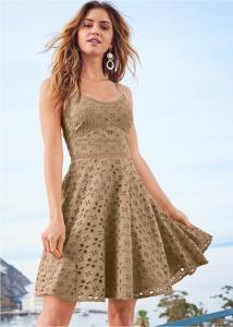 VENUS dámské šaty EYELET