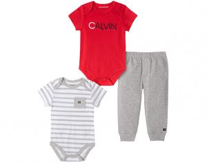 Calvin Klein oblečení pro miminko 3 Pieces Bodysuit
