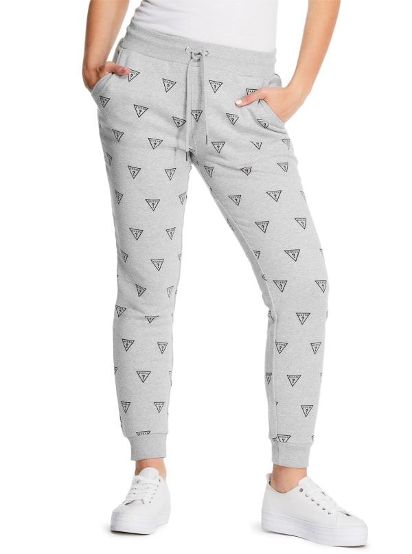 GUESS tepláky Baker Triangle Logo Joggers