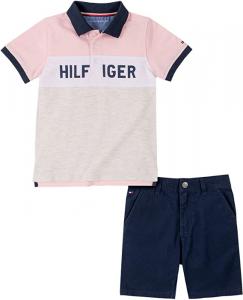 Tommy Hilfiger polo tričko s kraťasy pro chlapečka