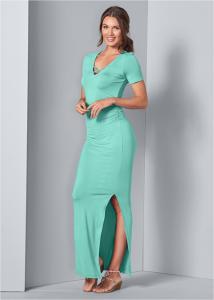 VENUS dámské šaty RUCHED MAXI