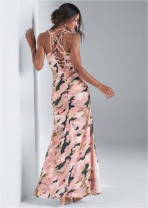 VENUS dámské šaty CAMO