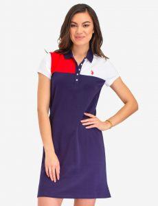 U.S. Polo Assn. dámské šaty COLORBLOCK