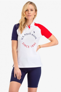 U.S. Polo Assn dámské polo tričko COLORBLOCK