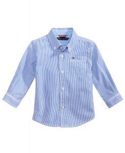 Tommy Hilfiger košile pro chlapečka Baby Boys Button