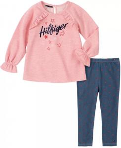 Tommy Hilfiger oblečení pro holčičku Fleece Tunic