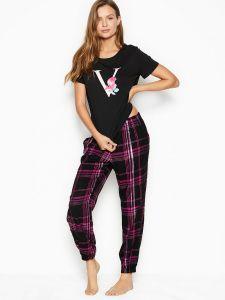 Victoria's Secret dámské pyžamo Cotton & Flannel