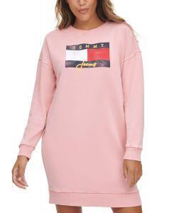 Tommy Hilfiger dámské šaty Logo Sweatshirt