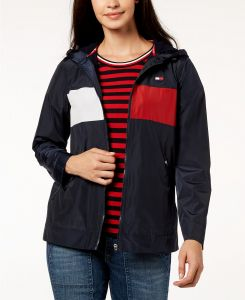 Tommy Hilfiger dámská bunda Hooded