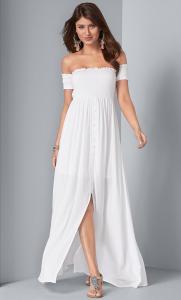 Venus dámské šaty Smocked Detail
