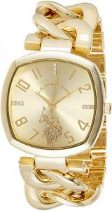 U.S.Polo Assn hodinky USC40250AZ Gold Watch
