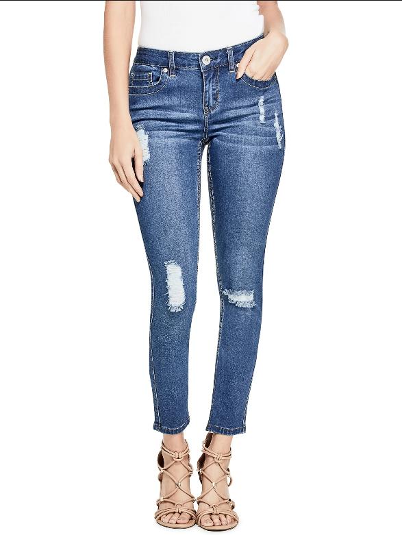 GUESS džíny Cindy Skinny Jeans