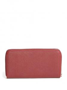 GUESS peněženka Abree Logo Saffiano Wallet