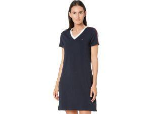 Tommy Hilfiger dámské šaty V Neck Dress