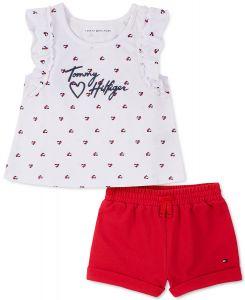 Tommy Hilfiger dívčí set oblečení Ruffled