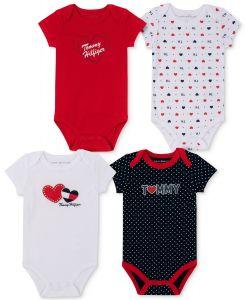Tommy Hilfiger bodýčka pro holčičku Heart