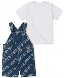Tommy Hilfiger tričko a kraťasy s laclem Shortall