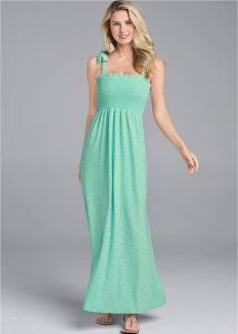 Venus dámské šaty Eyelet Maxi Dress