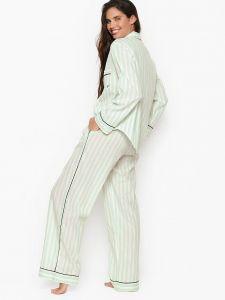 Victoria's Secret  dámské Cotton Long PJ Set